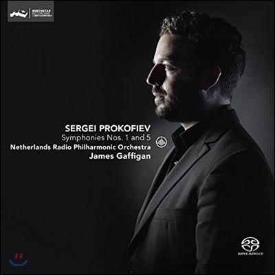 James Gaffigan 프로코피에프: 교향곡 1번, 5번 - 제임스 개피건 (Prokofiev: Symphonies Op.25 & Op.100)