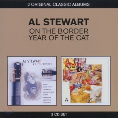 Al Stewart - 2 Original Classic Albums (On The Border + Year Of The Cat)