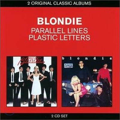 Blondie - 2 Original Classic Albums (Parallel Lines + Plastic Letters)