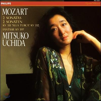 Mitsuko Uchida 모차르트: 피아노 소나타 '터키 풍으로', 환상곡 - 미츠코 우치다 (Mozart: 2 Piano Sonatas KV331 'Alla Turca', KV332, Fantasie KV397) [LP]