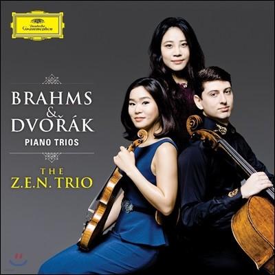 젠 트리오 (The Z.E.N. Trio) - 브람스 & 드보르작: 피아노 트리오 (Brahms & Dvorak: Piano Trios)
