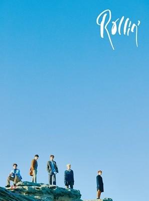 B1A4 - 미니앨범 7집 : Rollin' [Blue ver.]