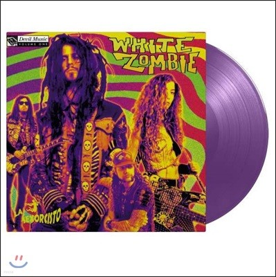 White Zombie (화이트 좀비) - La Sexorcisto : Devil Music Vol.1 [퍼플 컬러 LP]