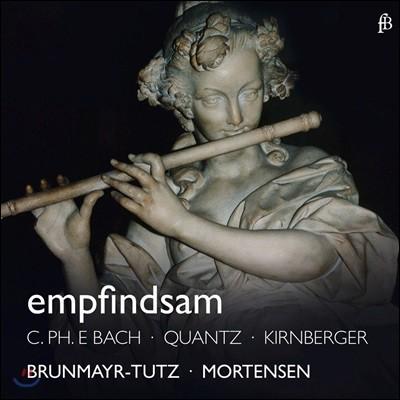 Linde Brunmayr-Tutz 다감양식 - 키른베르거 / 크반츠 / C.P.E. 바흐 / 벤다: 플루트 소나타 (Empfindsam - Flute Sonatas by Kirinberger, C.P.E. Bach, Benda, Quantz) 린데 브룬마이어-투츠