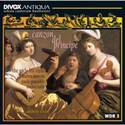 왕자의 음악 (제수알도의 '왕자의 칸초나'를 바탕으로 한 루이지 로시의 런던사본) (Canzon Del Principe) - Paolo Pandolfo