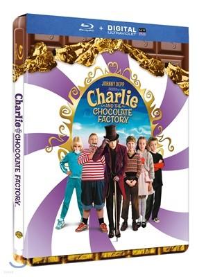 찰리와 초콜릿 공장 (1Disc 스틸북 한정수량) : 블루레이