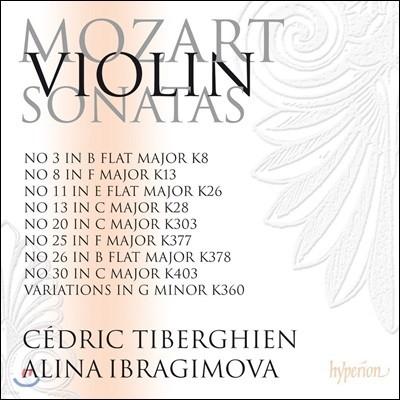 Alina Ibragimova 모차르트: 바이올린 소나타 4집 - 알리나 이브라기모바 (Mozart: Violin Sonatas Vol.4 - Nos.3, 8, 11, 13, 20, 25, 26 & 30, Variations K.360)