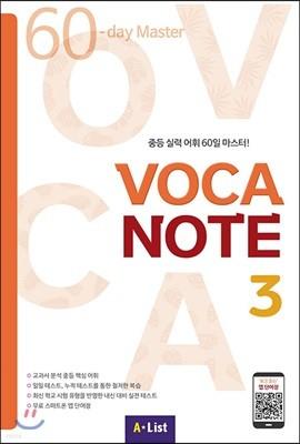 VOCA NOTE 3