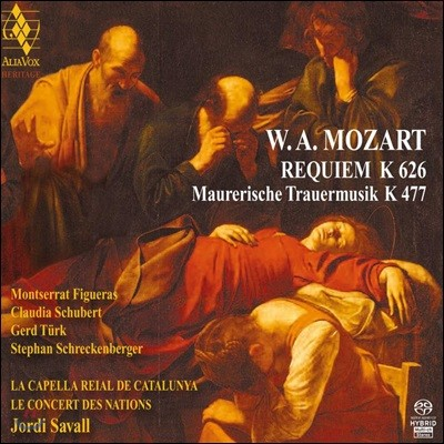 Montserrat Figueras 모차르트: 레퀴엠, 프리메이슨 장송음악 (Mozart: Requiem, Masonic Funeral March)