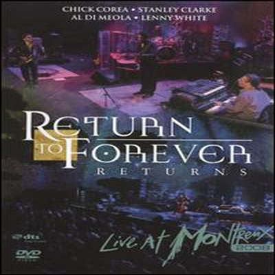 Return To Forever - Returns - Live at Montreux 2008 (DVD)