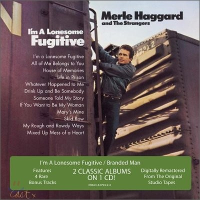 Merle Haggard - I'm A Lonesome Fugitive + Branded Man