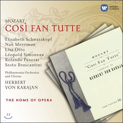 Elisabeth Schwarzkopf 모차르트: 코지 판 투테 (Mozart: Cosi fan tutte, K588)