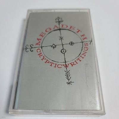 (중고Tape) Megadeth - Cryptic writings