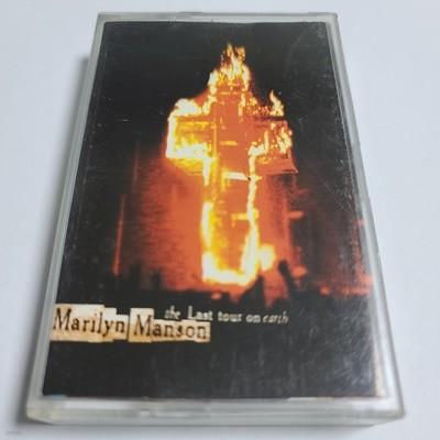 (중고Tape) Marilyn Manson - The last tour on earth
