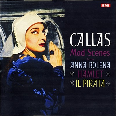 Maria Callas - Mad Scenes 마리아 칼라스 - 광란의 아리아 [LP]