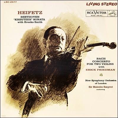 베토벤 : 크로이처 소나타 / 바흐 : 2대의 바이올린을 위한 협주곡 - 하이페츠