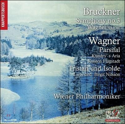 Hans Knappertsbusch 브루크너: 교향곡 3번 / 바그너: 파르지팔, 트리스탄과 이졸데 '사랑의 죽음' (Bruckner: Symphony WAB103 / Wagner: Parsifal, Tristan und Isolde 'Liebestod')