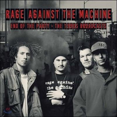 Rage Against The Machine (레이지 어게인스트 더 머신) - End Of The Party [2 LP]