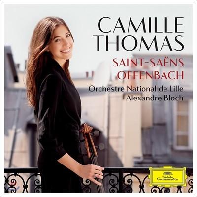 Camille Thomas 오펜바흐: 자클린의 눈물 / 생상스: 첼로 협주곡 1번 (Offenbach: Les Larmes de Jacqueline Op.76 / Saint-Saens: Cello Concerto Op.33)