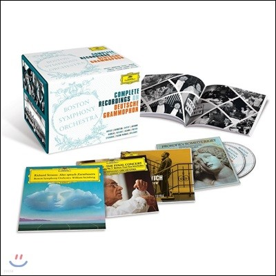 Boston Symphony Orchestra 보스턴 심포니 오케스트라 DG 녹음 전집 한정반 (Complete Recordings on Deutsche Grammophon)