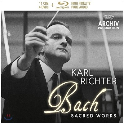 Karl Richter 바흐: 종교음악 한정반 (J.S. Bach: Sacred Works)