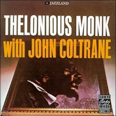 Thelonious Monk (델로니어스 몽크) - With John Coltrane (위드 존 콜트레인) [LP]
