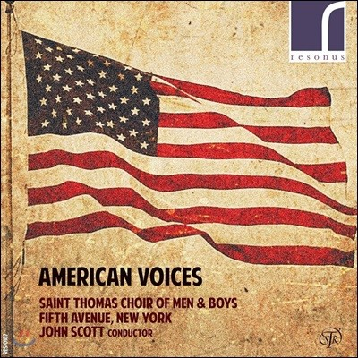 Saint Thomas Choir of Men & Boys 미국 합창음악 작품집 (American Voices)