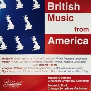 Jascha Heifetz, Eugene Goossens, Frederick Stock / British Music From America (수입/WHL016)