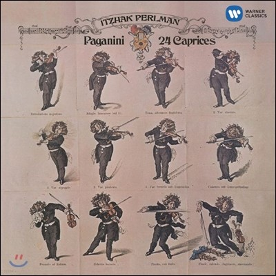 Itzhak Perlman 파가니니: 24 무반주 카프리스 / 기상곡 (Paganini: 24 Caprices)