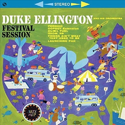Duke Ellington - Festival Session (Remastered)(Limited Edition)(180G)(LP)