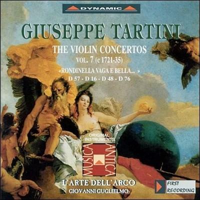 L'Arte dell'Arco 타르티니: 바이올린 협주곡 16집 (Tartini: The Violin Concertos Vol.16)