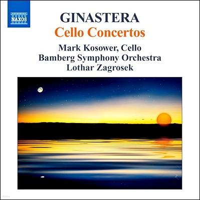Mark Kosower 히나스테라: 첼로 협주곡 1,2번 (Ginastera: Cello Concertos Op.50, Op.36) 마크 코소워