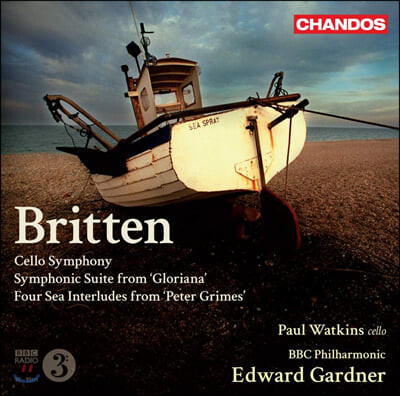 Paul Watkins 브리튼: 관현악 작품집 (Britten: Symphony for Cello and Orchestra)