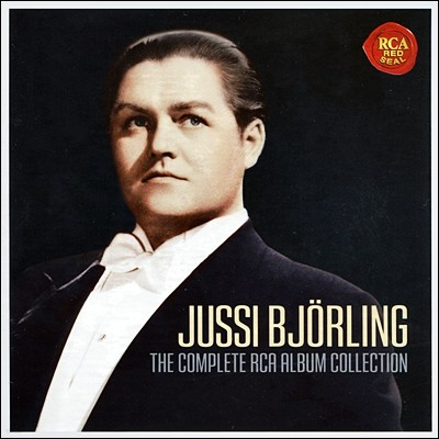 Jussi Bjorling 유시 비욜링 RCA 녹음 전집 (Complete RCA Album Collection )