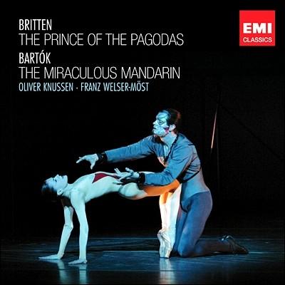 Franz Welser-Most 브리튼: 파고다의 왕자 / 바르톡: 중국의 이상한 관리 (Britten: Prince of the Pagodas / Bartok: The Miraculous Mandarin)