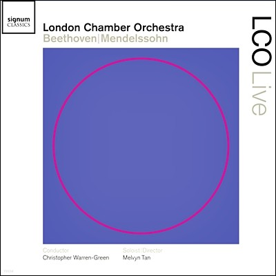 Melvyn Tan 베토벤 : 에그몬트 서곡, 피아노 협주곡 2번 / 멘델스존 : 교향곡 4번 '이탈리아'