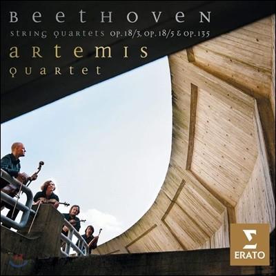 Artemis Quartet 베토벤: 현악 4중주 3, 5, 16번 - 아르테미스 사중주단