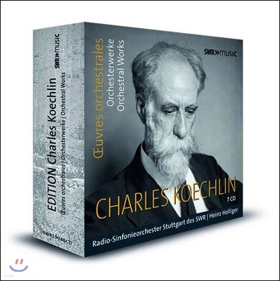 Heinz Holliger 쾨슐랭: 관현악 작품집 (Charles Koechlin: Orchestral Works)