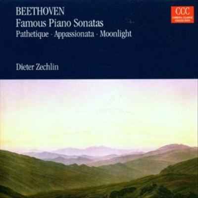 베토벤: 피아노 소나타 8번 '비창', 14번 '월광', 23번 '열정' (Beethoven: Piano Sonata No.8 'Pathetique', No.14 'Moonlight' & No.23 'Appassionata') - Dieter Zechlin