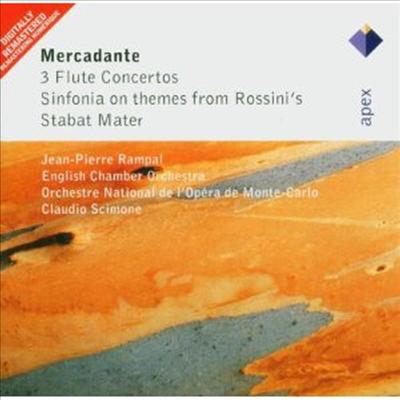 메르카단테: 플루트 협주곡, 로시니 '슬픔의 성모' 주제에 의한 신포니아 (Mercadante: Flute Concertos, Sinfonia on Themes from Rossini's Stabat Mater) - Jean-Pierre Rampal