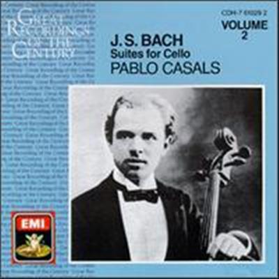 바흐: 무반주 첼로 모음곡 4-6번 (Bach: Suites for Cello Nos.4-6 BWV1010-1012) - Pablo Casals
