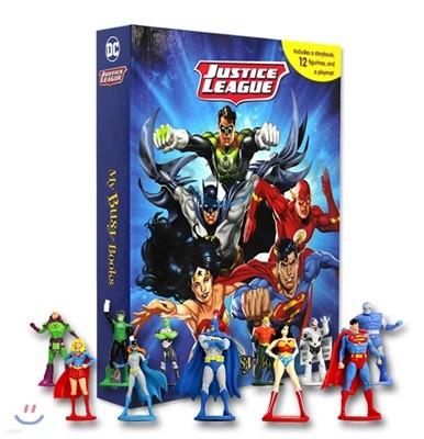 DC Comics Justice League My Busy Book DC 코믹스 저스티스 리그 마이 비지북 (피규어 10개)