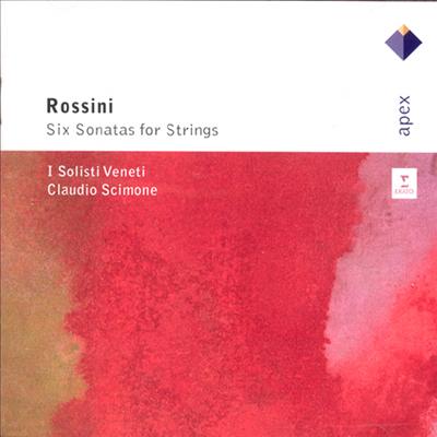 로시니 : 6개의 현악 소나타 (Rossini : Six Sonatas For Strings) - Claudio Scimone