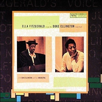 Ella Fitzgerald (엘라 피츠제럴드) - Sings The Duke Ellington Songbook [2 LP]