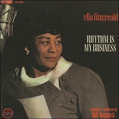 Ella Fitzgerald (엘라 피츠제럴드) - Rhythm Is My Business [LP]