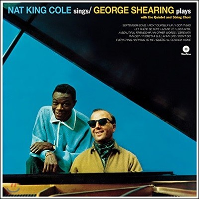 Nat King Cole (냇 킹 콜) - Nat King Cole Sings/George Shearing Plays [LP]