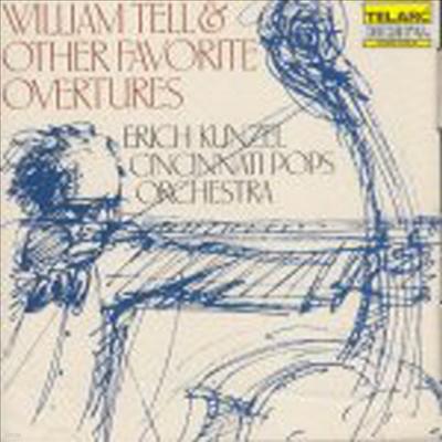 윌리엄 텔 - 유명서곡 모음집 (William Tell & Other Favorite Overtures) - Erich Kunzel