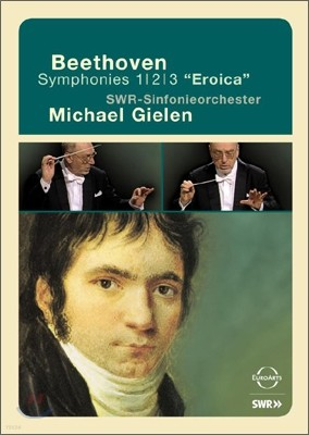 Michael Gielen 베토벤: 교향곡 1, 2, 3번 (Beethoven: Symphonies Nos. 1, 2 & 3) 미하엘 길렌