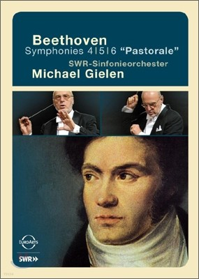Michael Gielen 베토벤: 교향곡 4, 5, 6번 (Beethoven: Symphonies Nos. 4, 5 & 6) 미하엘 길렌