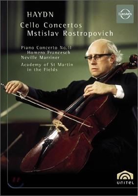하이든 : 첼로 협주곡 - 로스트로포비치